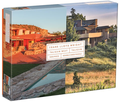 Taliesin and Taliesin West 500-Piece Double-Sided Jigsaw Puzzle