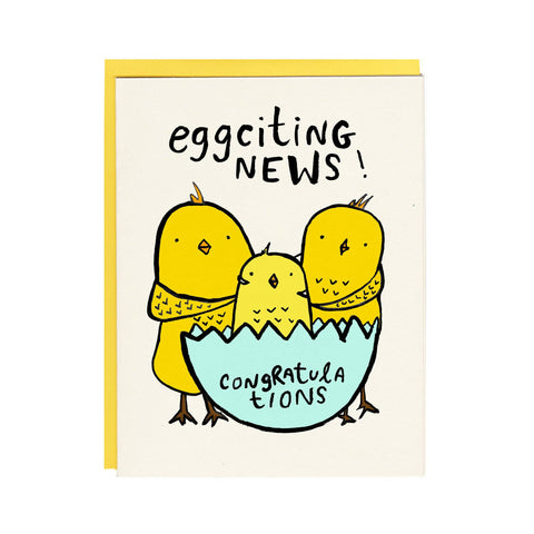 Eggciting News!