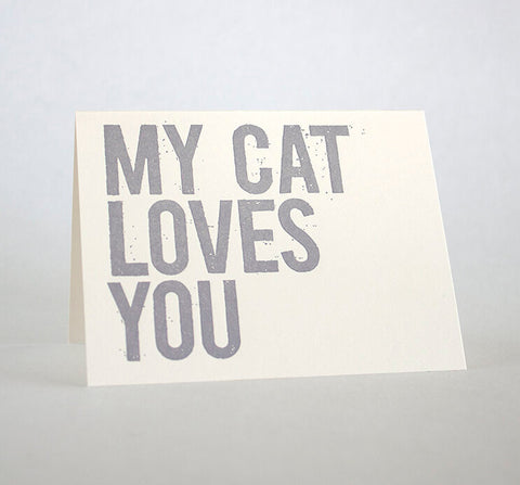 My Cat Loves You