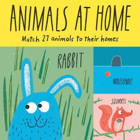 Animals at Home: Match 27 Animals to Their Homes