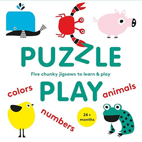 Puzzle Play: Five Chunky Jigsaws to Learn & Play (The educational jigsaw puzzle for kids)