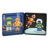 Mix and Match Magnetic Tin Robots