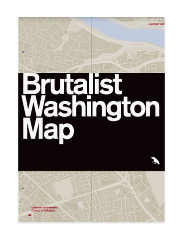 Brutalist Map Collection