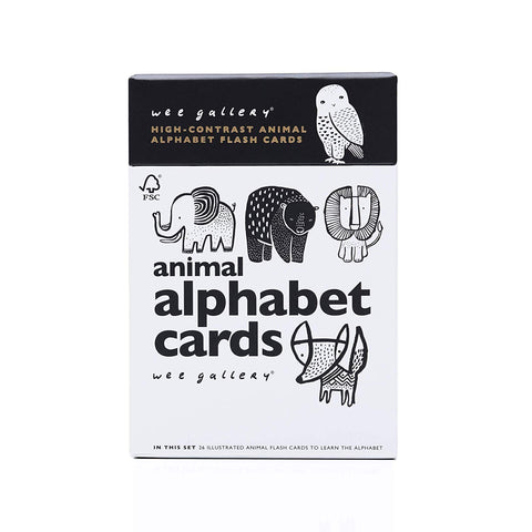 Nature Flash Cards: Alphabet & Numbers