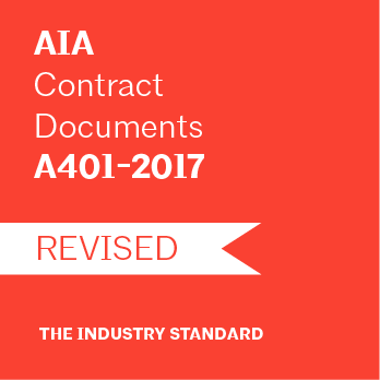 A401-2017 Contractor-Subcontractor Agreement - AIA Contract Documents Paper