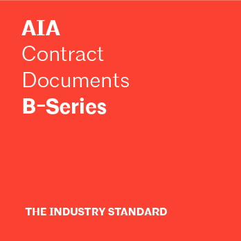 B-Series | AIA Contract Documents