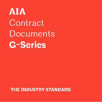 AIA Contract Documents - G-Series - American Institute of Architects