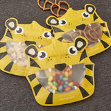 Reusable Animal Zipper Bags