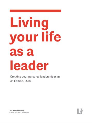 Living Your Life as a Leader (PDF)