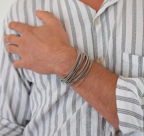 Industrial Men's Bracelet by La Mollla