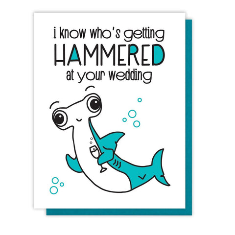 Hammerhead Shark Wedding