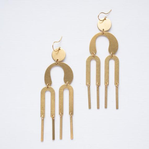 Long Statement Earrings by Nest Pretty Things