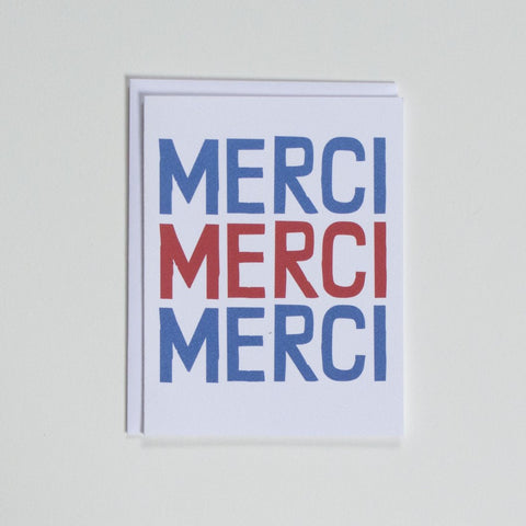 Merci Merci Merci - Thank You