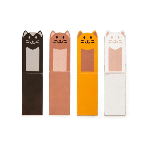 Cat Magnetic Bookmarks set of 4