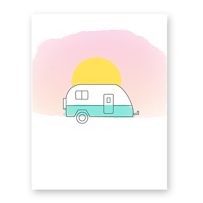 Sunset Camper