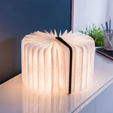 Mini Smart Book Light- Leather