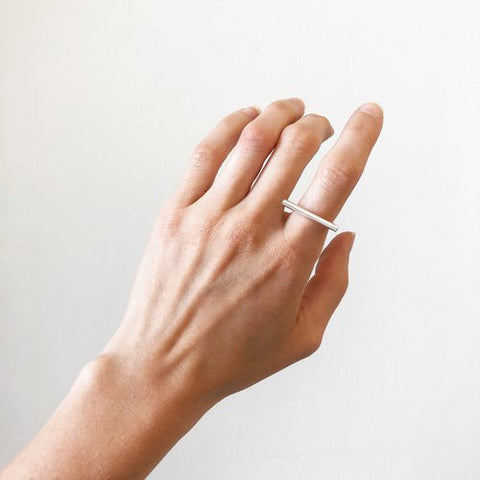 Bar I Ring by Sable Jewelry