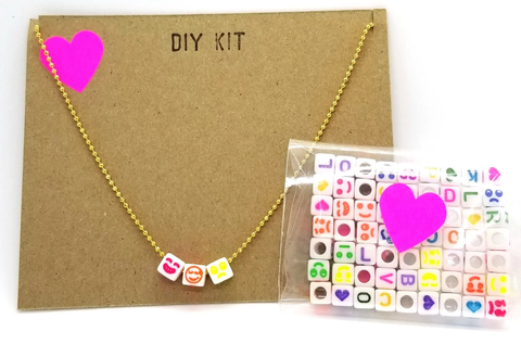 DIY Letter BFF Jewelry Kits