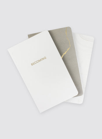 You Are Becoming: Blank Notebook Set