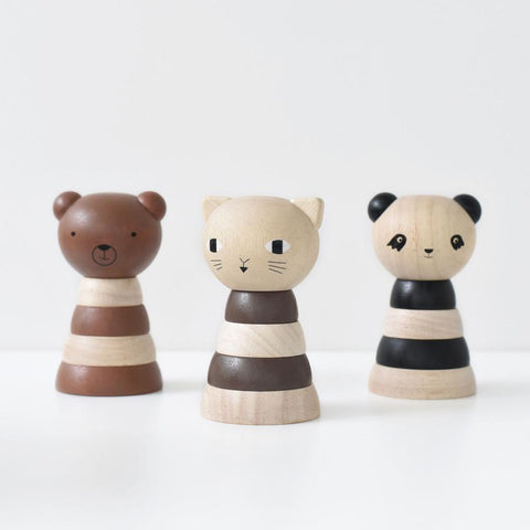 Animal Wooden Stackers