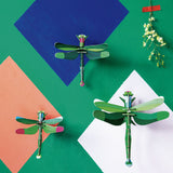 Insect 3D Wall Décor: Set of Three, Dragonflies & Honey Bees