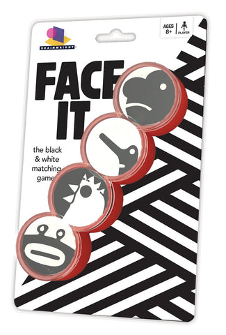 Face It - Black & White Matching Game