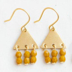 Colorful Geometric Earrings by Nest Pretty Things