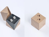 Micro Concrete Cufflink Sets: Assorted Styles
