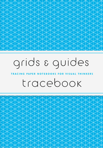 AIA Store - Grids & Guides Tracebook: Tracing Paper Notebooks for Visual Thinkers