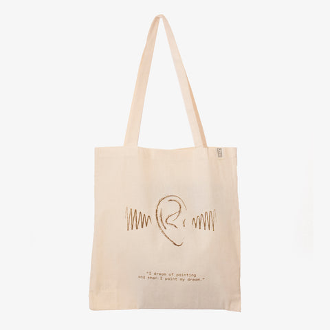 Artist Quote Tote -Van Gogh Ear