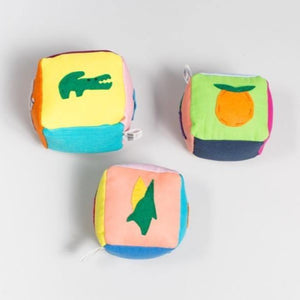 Animal + fruit + veggie block set - Child's Cup Full