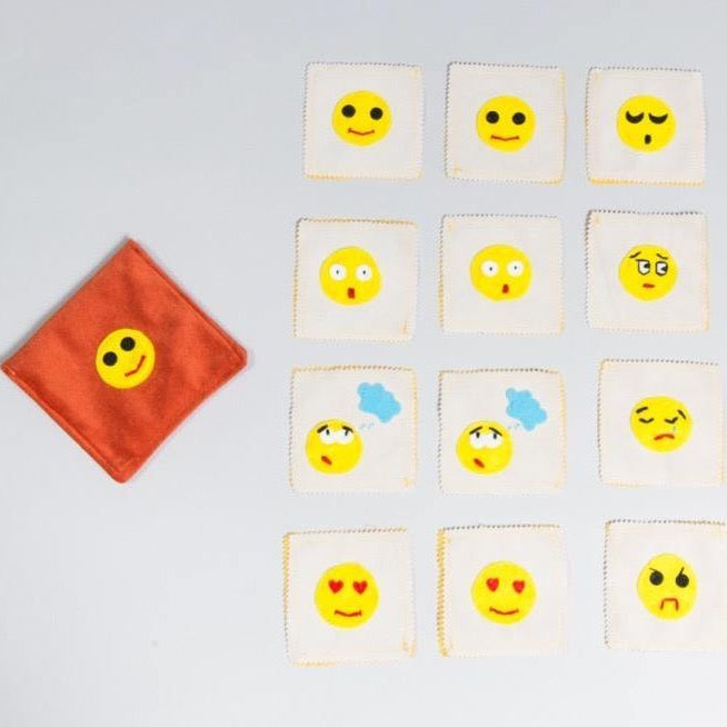 Emotions memory game - Child's Cup Full