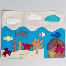 Sea habitat story board - Child's Cup Full