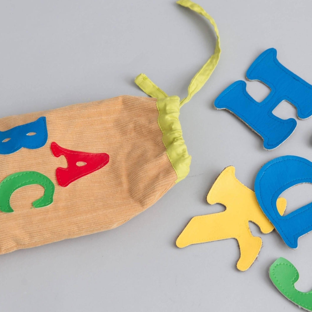 English alphabet bag - Child's Cup Full