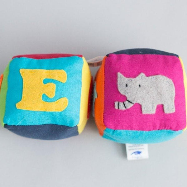 English animal block set