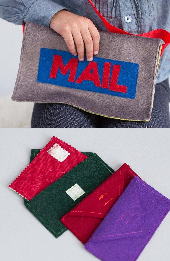 English mail bag set