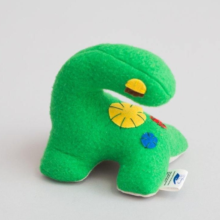 Small dinosaur (Green) - Child's Cup Full