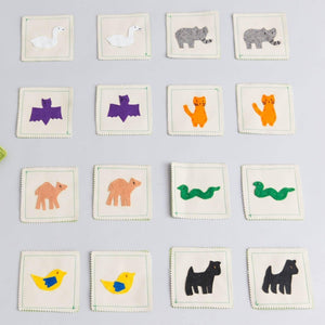 Land animals memory game - Child's Cup Full