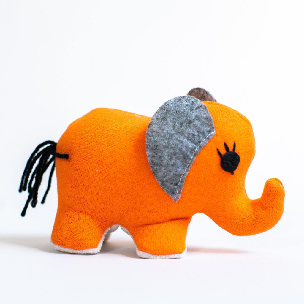 Small Elephant (Orange) - Zeki Learning