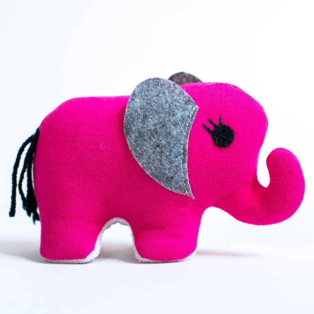 Small Elephant (Pink) - Zeki Learning