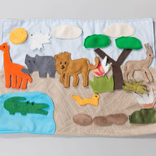 Safari habitat story board