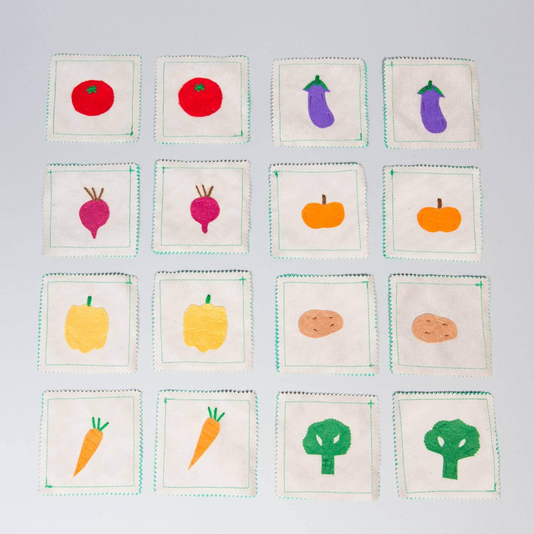 Vegetables memory game - Child's Cup Full