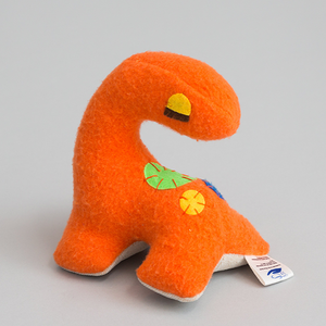 Small Dinosaur (Orange)