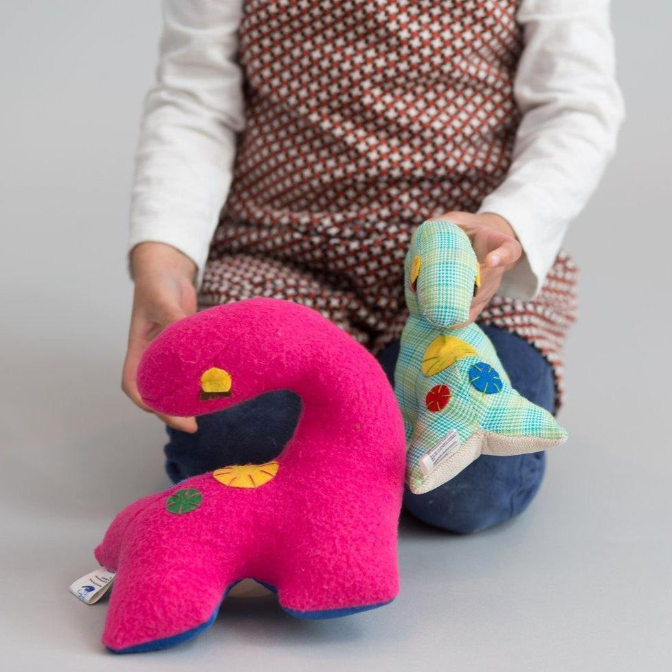 Small dinosaur (Pink) - Child's Cup Full