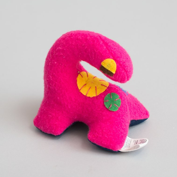 Small Dinosaur (Pink) - Zeki Learning