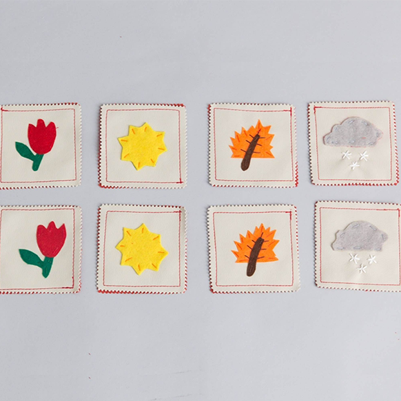 Seasons Mini Memory Game - Zeki Learning