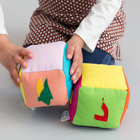 Arabic Vegetable Block Set - Zeki Learning