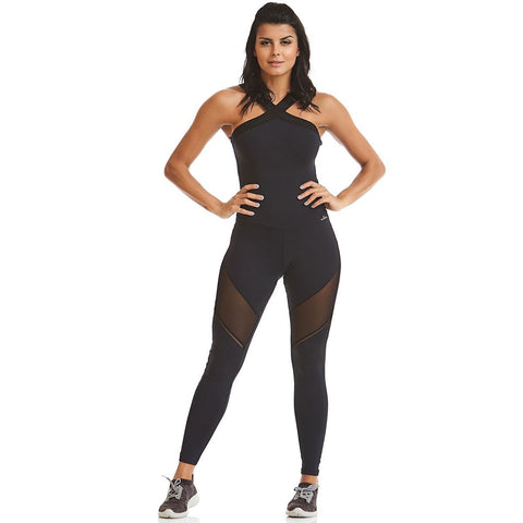 Midnight Run Bodysuit - Energy Flow Activewear