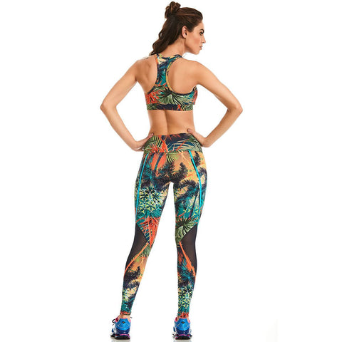 Tropic Paradise Leggings - Energy Flow Activewear