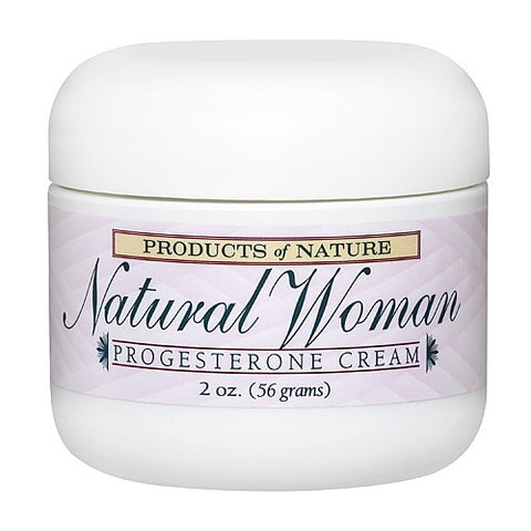 Natural Woman Progesterone Cream 2.0 oz
